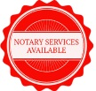 Notary Services Available